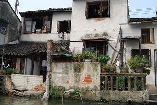 蘇州水郷めぐり民家